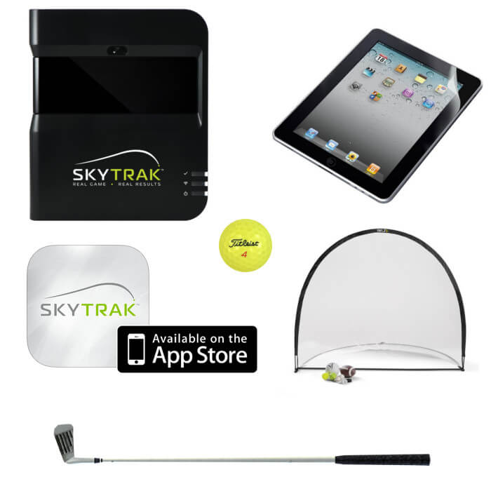 SkyTrak Launch Monitor, here is what you need to practice anywhere