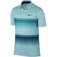 Nike Golf Mobility Stripe Polo - Rio Teal/Copa/Anthracite